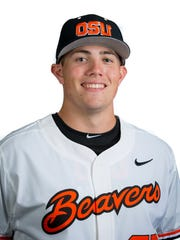 OSU's pitcher John Pomeroy appeared in seven games this season.
