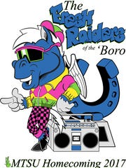 """The Fresh Raiders of the 'Boro,"" the 2017 MTSU homecoming theme, is a take on the Will Smith TV show ""The Fresh Prince of Bel Air."""