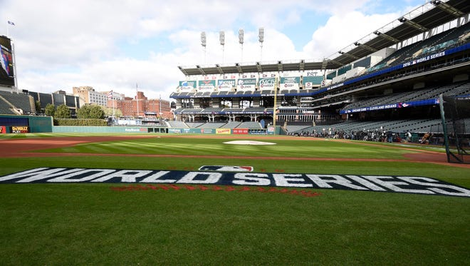 The Indians will host Game 2 of the World Series at Progressive Field.