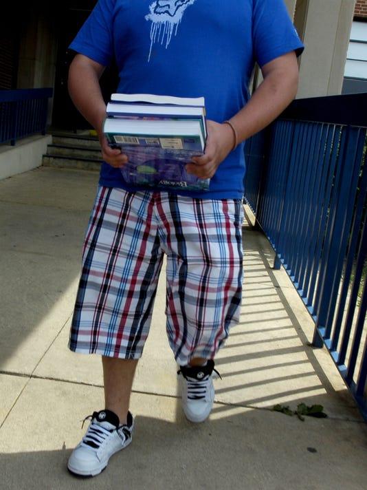 Robert E. Lee High School first day