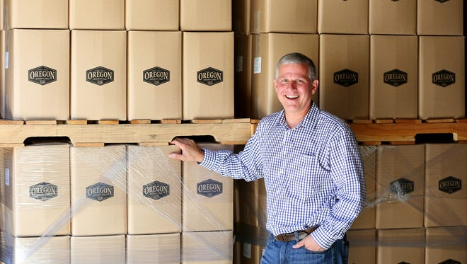 Chris Sarles, president/CEO of Oregon Fruit Products.