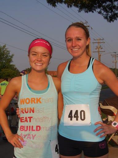 Ashley Wilks and Katlyn Hatz