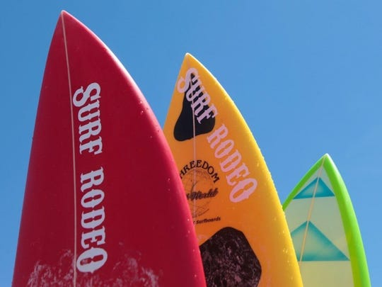 The year's Surf Rodeo will be July 13 and 14 at the Ventura Pier.