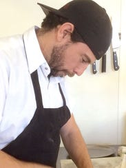 George Lambertson is the chef at ArtsRiot, a bar/restaurant