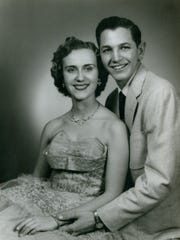 The couple were high school and were married at St. Paul's Methodist Church in Ls Cruces. sweethearts