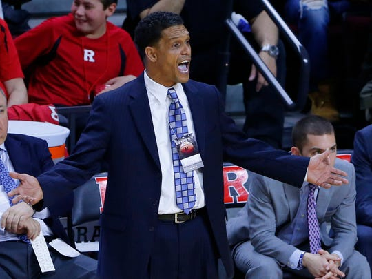 Monmouth University men's basketball coach King Rice