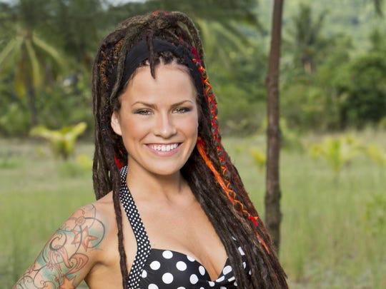 """Lindsey Ogle spent 14 days in the """"Survivor: Cagayan"""" game."""