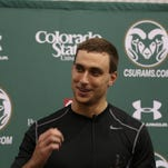 In this file photo, former Colorado State quarterback Garrett Grayson says he is happy with his performance during his NFL Pro Day on March 23, 2015.