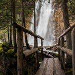 Slow down, soak up beauty of Glacier waterfalls