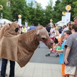 Kidsphere activities offer children a chance to enjoy Greenville's arts festival
