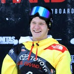 Kyle Mack's Olympic snowboarding journey began with temper tantrums