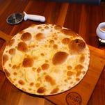 Focaccia di Recco at Pomo Pizzeria Napoletana