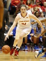 Iowa State's Bridget Carleton has taken her game to a new level this season.