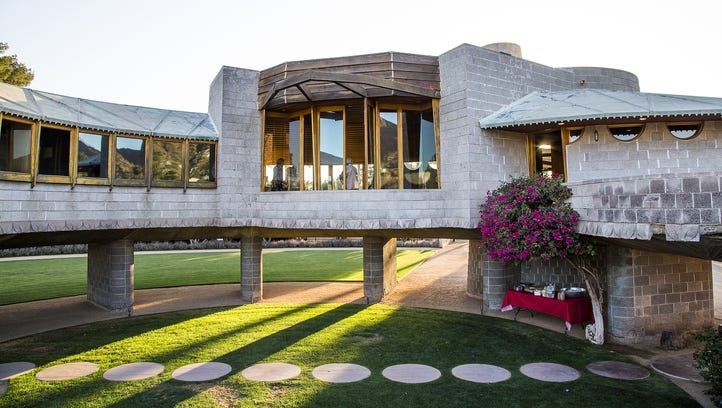 The 1952 David and Gladys Wright House in Phoenix's