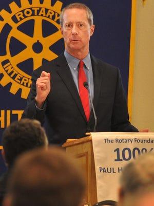 In this file photo, Rep. Mac Thornberry spoke to the Rotary Club of Wichita Falls, and addressed North Korea as a No. 1 concern.