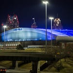 In petition, Ford Field's nightly glow is called light pollution