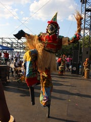 A stilt walker at the South Jersey Caribbean Festival, which will take place in Wiggins Park in Camden on Saturday, July 9.