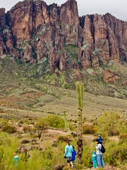 Take a First Day Hike at Lost Dutchman State Park in