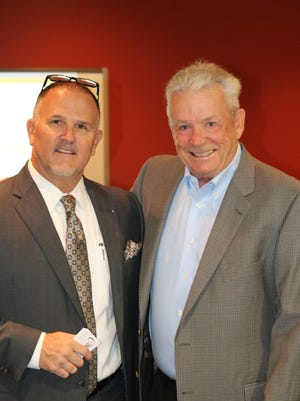 Blake Campbell Sr., left, of OneSource Financial Group, and Michael D. Fowler, of The Estate, Trust & Elder Law Firm.