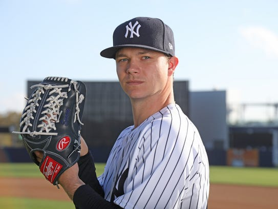 Pitcher, Sonny Gray one of the portraits of this season's