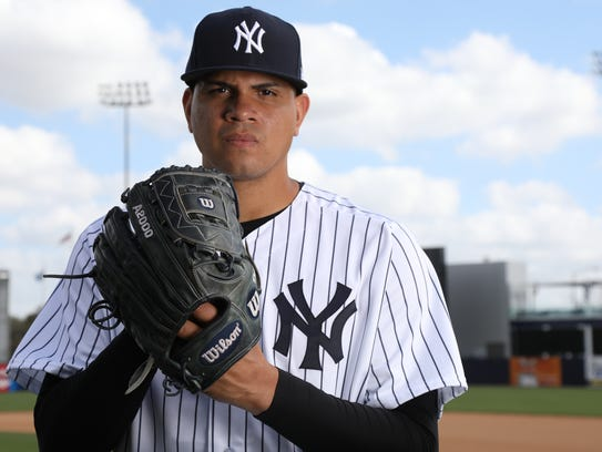 Pitcher, Dellin Betances one of the portraits of this