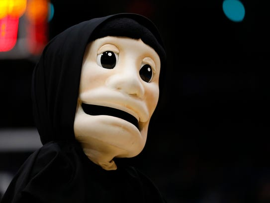 There is no nice way to say it: Providence Friars mascot