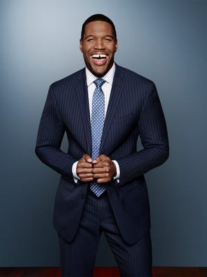 Michael Strahan will move from Kelly Ripa's couch to full-time co-anchor of ABC's 'Good Morning America' earlier than expected, leaving 'Live' on May 13.