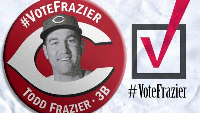 Reds third baseman Todd Frazier is having a banner year thus far.