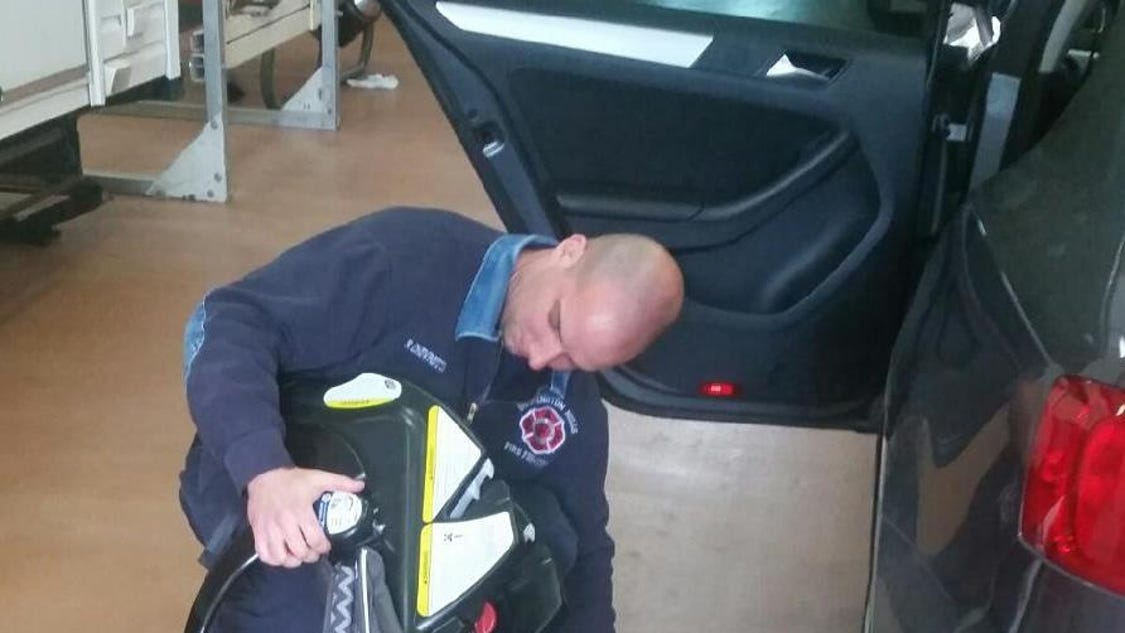 fire department offers car seat inspections