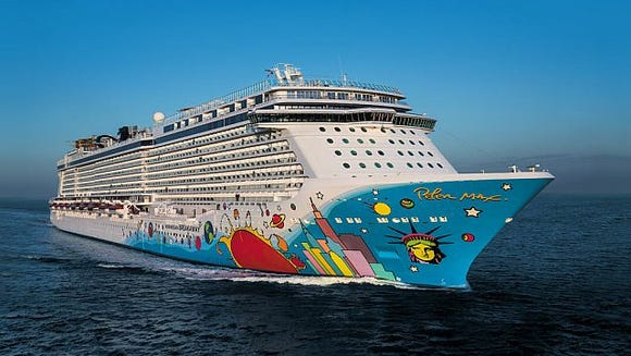 Photo tour: The allure of a Norwegian Cruise Line ship