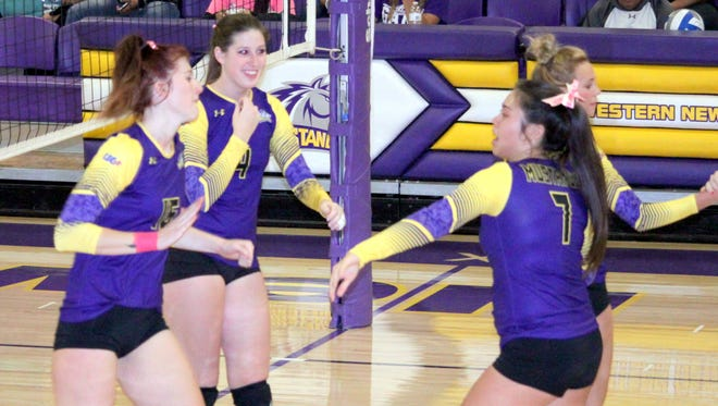 Western's volleyball team won't have much time to relax as it was supposed to see conference play Tuesday night.