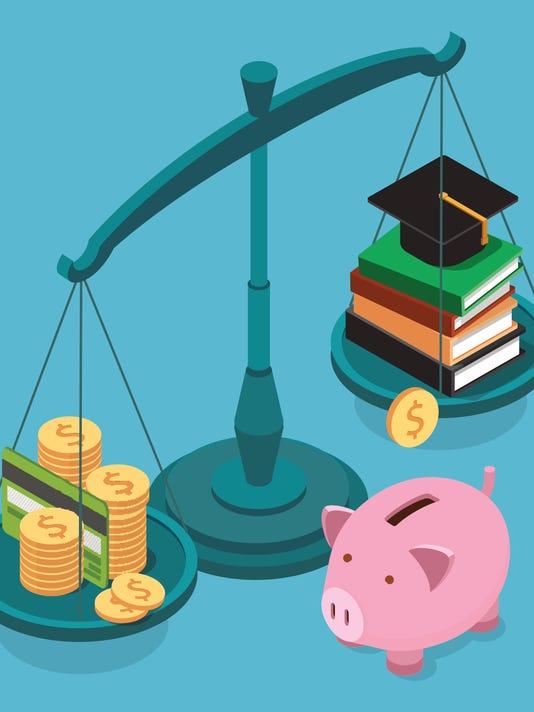 Education vs. tax credits