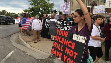 Across Metro Detroit, many speak out against violence