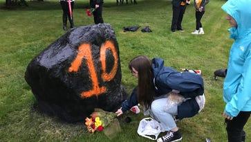 Students rally - again - against gun violence