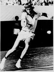1976 Wimbledon Champion Bjorn Borg was the number one