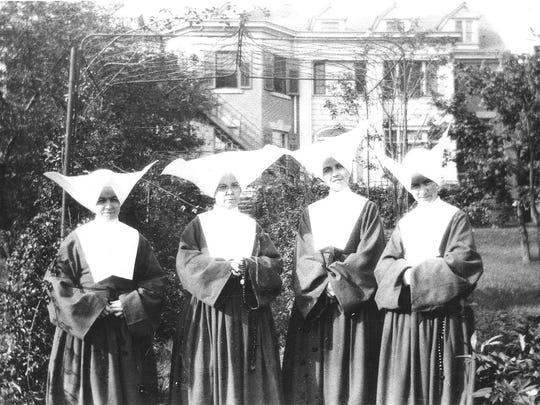 Four Daughters of Charity established Lourdes Hospital in 1925.