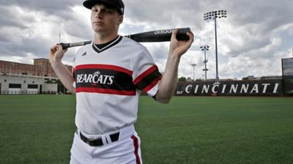 Ian Happ could become the first UC player to be a first-round selection in the June draft.