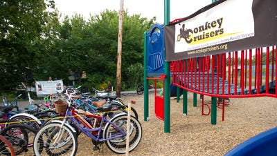 File photo shows some of the bicycles from the Conkey Crisuers.