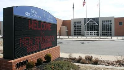 New Brunswick High School administrators and security personnel handled an altercation between a few students at the school Wednesday.