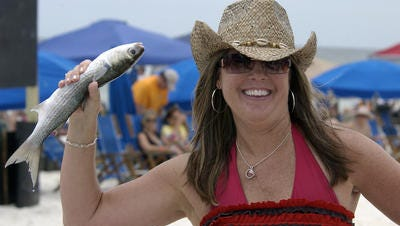 The annual Flora-Bama Mullet Toss, a fish-throwing hootenanny, takes place Friday through Sunday at the venerable Flora-Bama Lounge & Package on the Florida-Alabama border on Perdido Key.