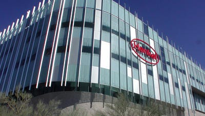The consumer products giant Henkel has announced it will reduce the amount of water in its Purex laundry detergent by 25 percent over the next four years. Henkel is a German company with its North American headquarters in Scottsdale.