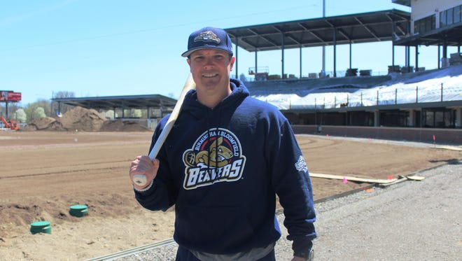 Later this month, Chris Newell will help make history as his Birmingham-Bloomfield Beavers open the inaugural USPBL season at the rapidly rising Jimmy John's Field in Utica.