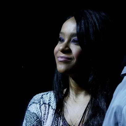 MILAN, ITALY - MAY 03: Whitney Houston daughter Bobbi