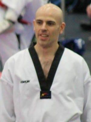 David Metz, who turns 38 this month, is a two-time U.S. Para taekwondo team member.
