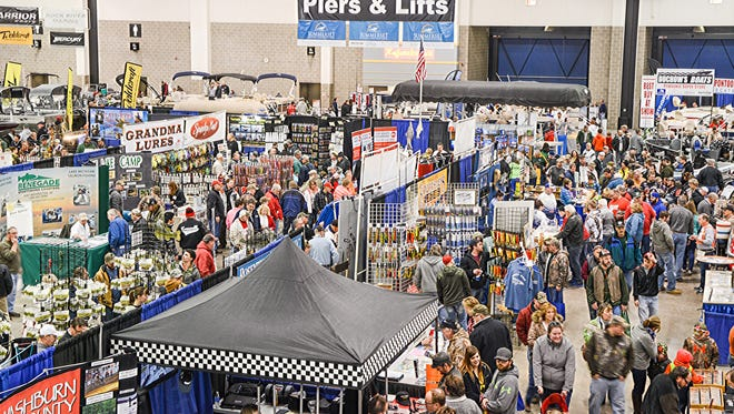 The Wisconsin Fishing Expo in Madison is expected to draw more than 20,000 people from across the state during its Feb. 26-28 run.