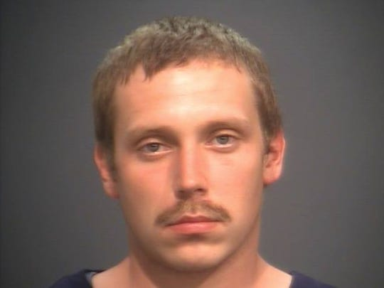 "Gary ""Dustin"" Mawyer in a 2014 mug shot."