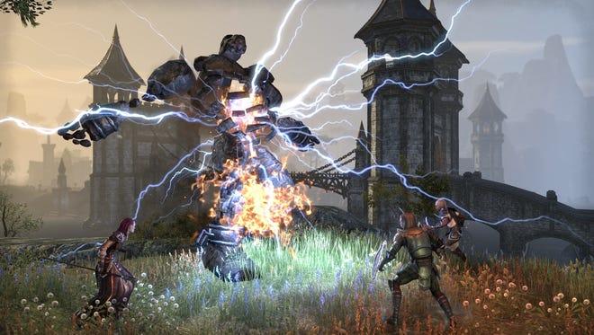 A scene from 'The Elder Scrolls Online.'