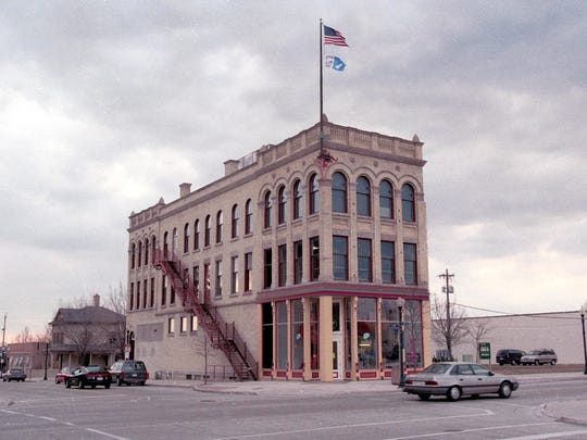 The exterior of the Above and Beyond Children's Museum in Sheboygan, Wis., as it appeared when the museum opened in 1993.
