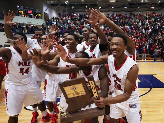 Pike celebrated another sectional title last season.