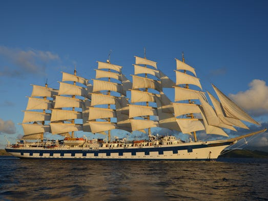 Star Clippers' Royal Clipper, an Anomaly in the World of Cruising